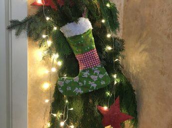 Nähpaket Weihnachtsstiefel